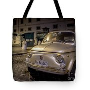 The Fiat 500 Tote Bag