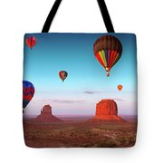 Their Dream Flight At Dream Place Tote Bag