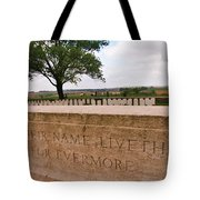 Their Name Liveth For Evermore Tote Bag