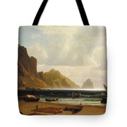 The_marina_piccola_capri Tote Bag