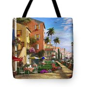 Themed Terrace Tote Bag