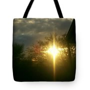 Then There Was Light Tote Bag