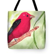 Theodore Tanager Tote Bag