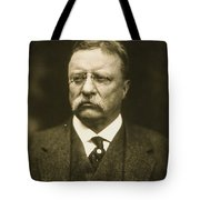 Theodore Roosevelt Tote Bag by Artistic Panda