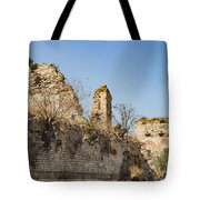 Theodosian Walls - View 10 Tote Bag