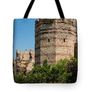 Theodosian Walls - View 3 Tote Bag