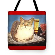 Therapy Cat Tote Bag