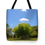 There Are Some Clouds Tote Bag