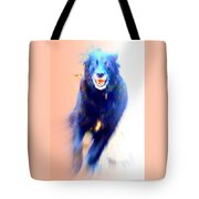 There Are Wild Dogs Living In The Mountains  Tote Bag