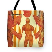There Comes A Time In A Man's Life When He Becomes Comfortable In His Own Skin Tote Bag