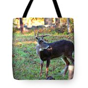 There Is A Twig Stuck In My Antlers Tote Bag