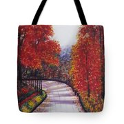 There Is Always A Bright Road Ahead Tote Bag