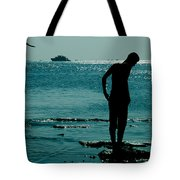 There Is Always A Watcher  Tote Bag
