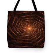 There Is Light At The End Of The Tunnel Tote Bag