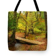 There Is Peace - Allaire State Park Tote Bag