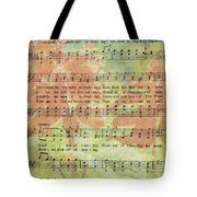 There Shall Be Showers Of Blessing Tote Bag