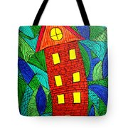 There Was A Crooked House Tote Bag