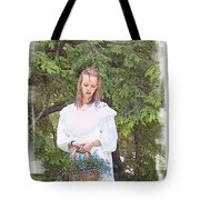 There Was A Little Girl... Tote Bag