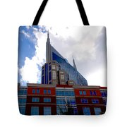 There Where Modern And Old Architecture Meet Tote Bag