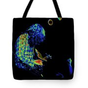 There's A Cosmic Light Tote Bag
