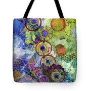 There's Always A Blue Thread Through It Tote Bag