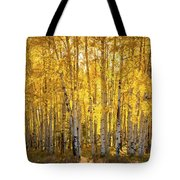 There's Gold In Them Woods  Tote Bag