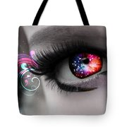 There's Magick In The Eyes Tote Bag