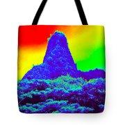 Thermal Face Of Hawaii Tote Bag