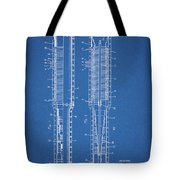 Thermojet Engine Patent Tote Bag