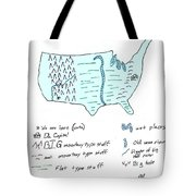 These United States Tote Bag