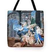 Theseus Crowned With A Laurel Wreath After Slaying The Centaur Bianor Tote Bag