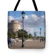 Thessaloniki City  Tote Bag