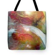 Theta Brain Waves Tote Bag