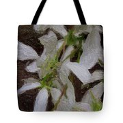 They Bloom They Dance Tote Bag