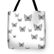 They Might Be Butterflies Tote Bag