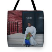 They Won't Let Me In Either. Tote Bag