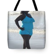 Thick Beach 14 Tote Bag