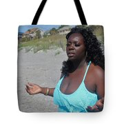 Thick Beach 16 Tote Bag