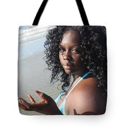 Thick Beach 17 Tote Bag