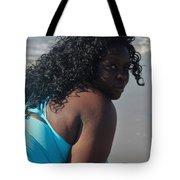 Thick Beach 9 Tote Bag