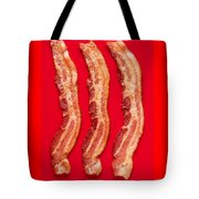 Thick Cut Bacon Served Up Tote Bag