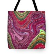Thick Paint Abstract Tote Bag