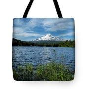 Thillium Lake And Mt Hood Tote Bag
