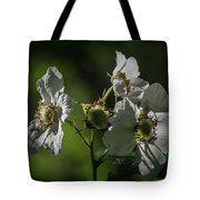 Thimbleberry Blossoms Tote Bag