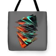 Thin Glass Triangles - 127 Tote Bag