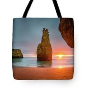 Thin Line Tote Bag by Dmytro Korol