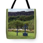 Thingvellir Church Cemetery, Iceland Tote Bag