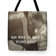 Think As One Quote Tote Bag