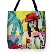 Thinking In Colors Tote Bag