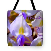 Thinking Of You Wisteria Tote Bag